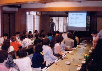 肥満の実態と予防のセミナー